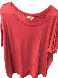 Velvet by Graham & Spencer T Shirt Red