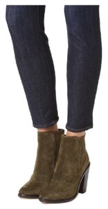 Joie Green/Brown Boots
