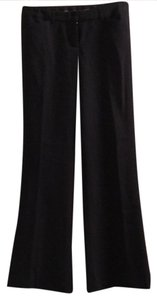 Express Flare Pants Navy with light blue pinstriping