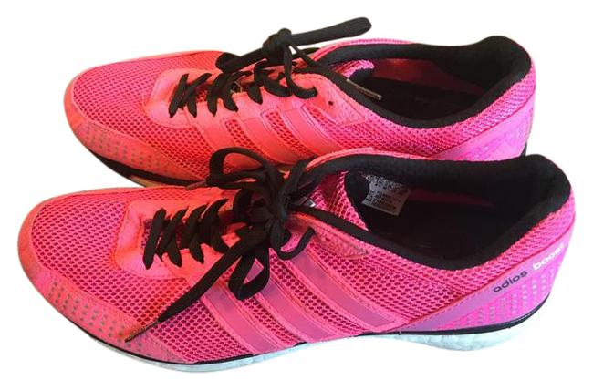 Item - Pink and Black Trainers Sneakers Size US 10 Narrow (Aa, N)