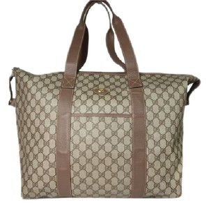 Gucci Boston brown Travel Bag