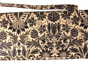 Marshalls Wristlet in Black and Tan Twall