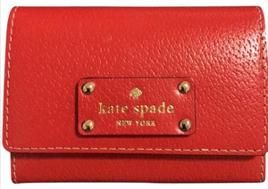 Kate Spade red leather Kate spade leather wallet