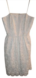 Lilly Pulitzer short dress White Lace Pearl on Tradesy