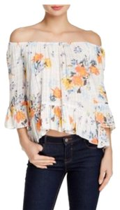 Wild Pearl Top floral