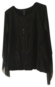 Alfani Top Black