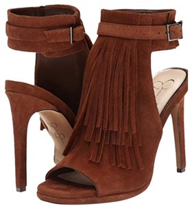 Jessica Simpson Suede Brown Stiletto Heels Hight Heel Light brown Pumps
