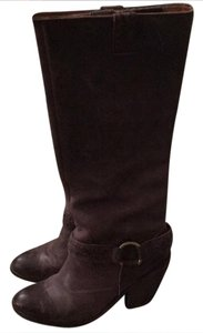 Lucky Brand Gray/Brown Boots