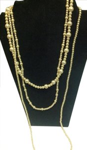 Other vintage cultured pearl 3 strand necklace