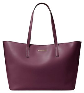 Michael Kors Emry Extra Large Tote in Plum Gold