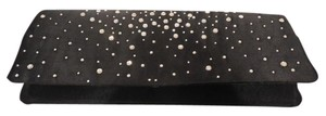 Benjamin Walk Midnight Black w studded rhinestones Clutch