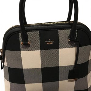 Kate Spade Satchel in Black & White