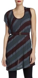 L.A.M.B. Multicolour Stripe Cotton Tunic