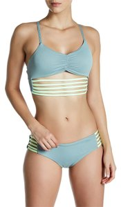 Maaji Maaji Balsam Roads Signature Cut Reversible Bikini Bottom L Green