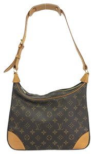 Louis Vuitton Lv Monogram Boulogne Canvas Shoulder Bag