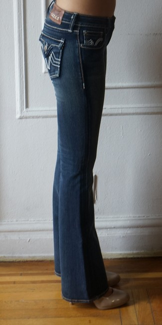 PRVCY Size 26 Medium Wash Boot Cut Jeans-Medium Wash Image 2