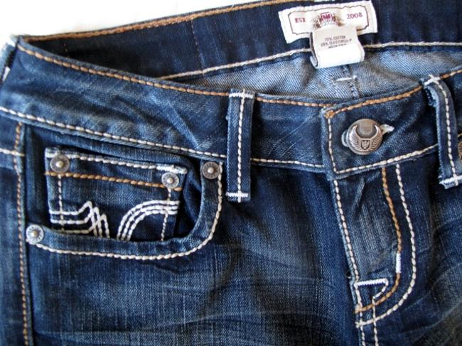 PRVCY Size 26 Medium Wash Boot Cut Jeans-Medium Wash Image 4