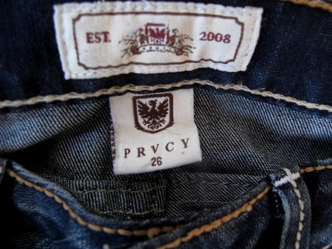 PRVCY Size 26 Medium Wash Boot Cut Jeans-Medium Wash Image 5