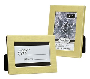 12-special Moments Flat-front Gold-colored Metal Frames 2.5x3.5 In.