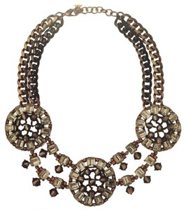 Stella & Dot Estate Bib Necklace