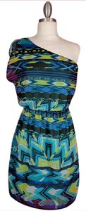I.N. San Francisco short dress Multicolored on Tradesy
