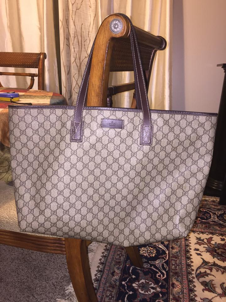 6af6dfeeecea Gucci Brown Tote Bag on Sale