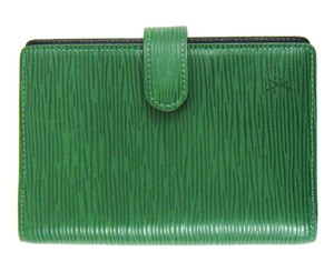 Louis Vuitton Green Epi Leather Agenda PM Day Planner Cover Spain