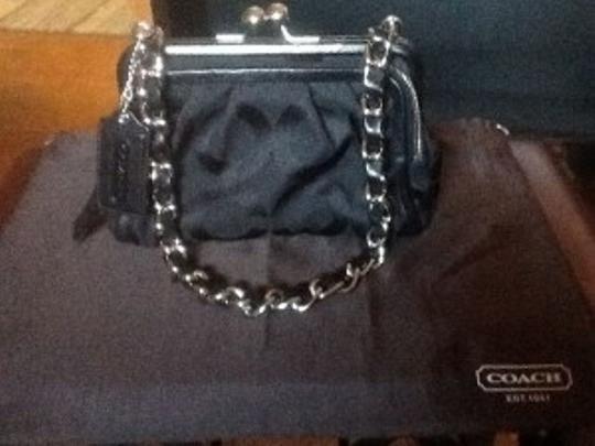 Coach Chain Strap 3 Compartment Shoulder Bag