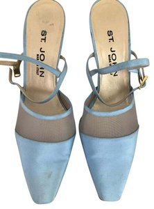 St. John Low Heel Special Occasion Blue Formal