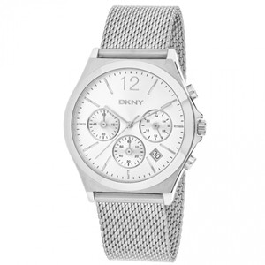 DKNY DKNY Women's Parsons Stainless-Steel Multifunction Watch NY2484