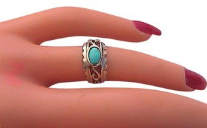 Other Turquoise Sterling Silver Ring (S6)