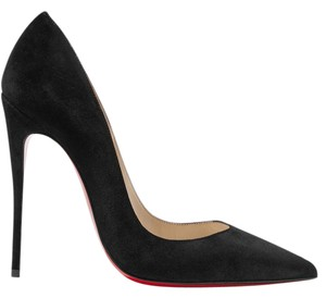 Christian Louboutin Suede Louboutin So Kate Kate Loubs black Pumps