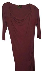 Vivienne Westwood short dress Burgundy on Tradesy