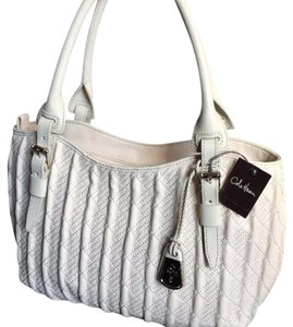 Cole Haan Satchel in Ivory / Off White