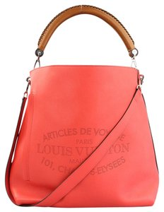 Louis Vuitton Voyage Leather Hobo Bag