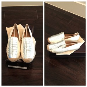 Vince Camuto white Flats