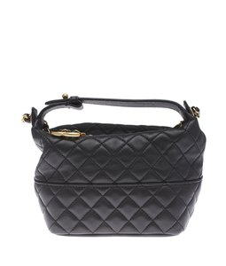 Chanel Quilted Lambskin Leather Cc Cross Body Bag