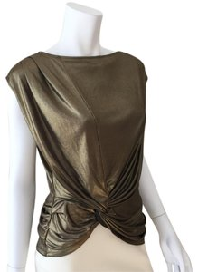 Halston Top Antique Gold