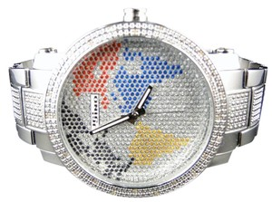 JoJino Jojino/Joe Rodeo Aqua Master Metal Band 25 Diamond Watch Mj-1030