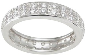 Other 1.0 ct Pave Double Row Anniversary Eternity Band *Size 5,6,7,8,9 *