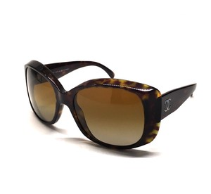 Chanel CH 5227 714 - Oversize Polarized Chanel w/ CC's - FREE 2 Day Shipping