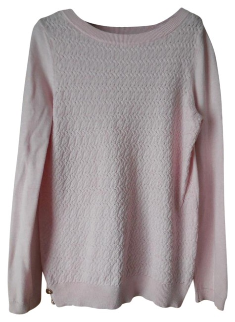 Preload https://img-static.tradesy.com/item/20870226/tommy-hilfiger-size-medium-cable-pink-sweater-0-1-650-650.jpg