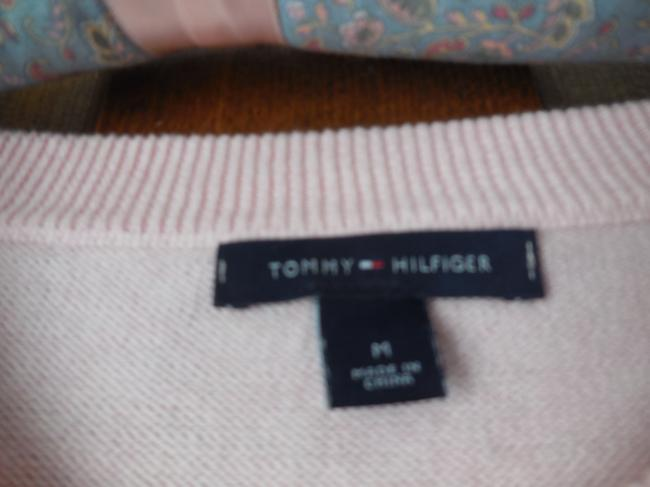 Tommy Hilfiger Logo Cotton Cable Pattern Banded Sweater Image 2