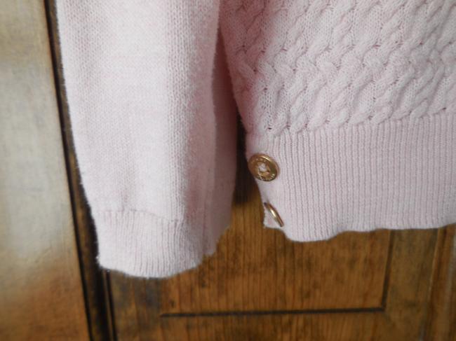 Tommy Hilfiger Logo Cotton Cable Pattern Banded Sweater Image 3