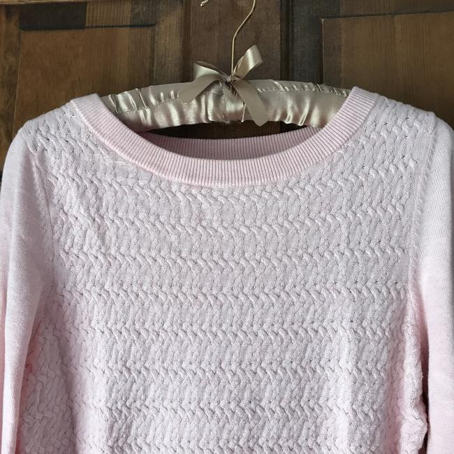 Tommy Hilfiger Logo Cotton Cable Pattern Banded Sweater Image 8
