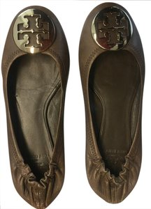 Tory Burch Leather brown Flats