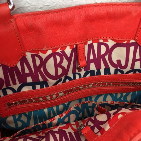 Marc by Marc Jacobs Roomy Striped Tote in red Image 4