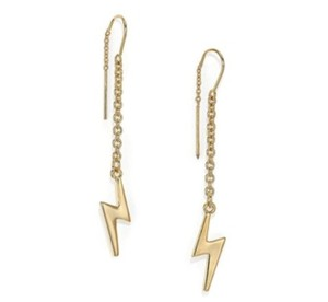 Marc by Marc Jacobs NWT - Marc by Marc Jacobs Lightening Bolt Threader Earrings In Gold