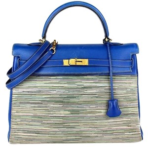Hermès Kelly Kelly Kelly 35 Satchel in Blue