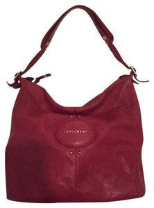 Red Longchamp Hobo Bags - Up to 90% off at Tradesy 8ebfceafa98a2